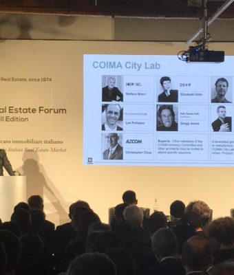 Undertaking for great cities. Coima presenta la 'carta' per il futuro delle città